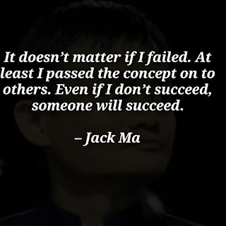 Jack Ma quotes on life success, education, business with image