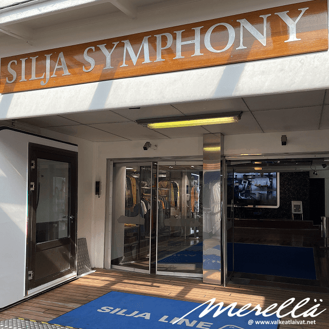 Silja Symphony Helsinki - Tukholma