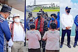 Petrus Fatlolon Sambut Kunjungan 3 Tamu dari Pemerintah Pusat ke Kepulauan Tanimbar