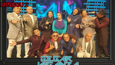 Live Streaming Gegar Vaganza 2019 Minggu 9