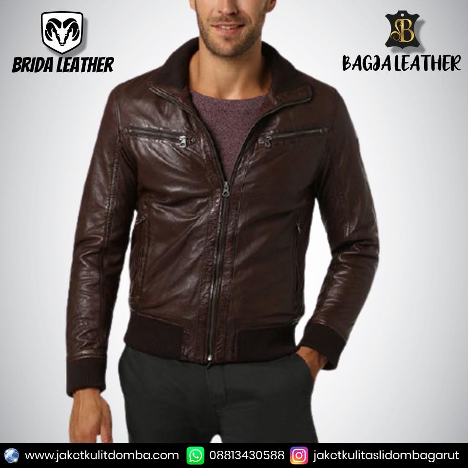 jaket kulit classic
