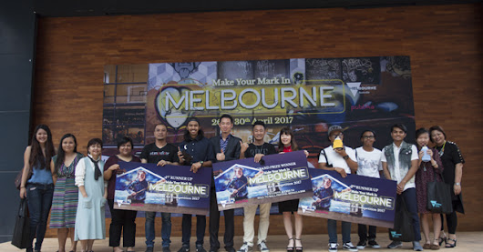 Make Your Mark in Melbourne Street Art Competition Winners Announcement at Publika KL
