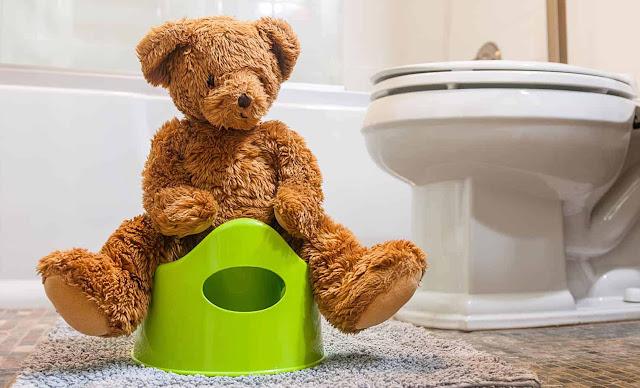 melatih toilet training
