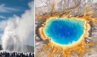 Gaisers del volcan yellowstone se estan comportando raro.