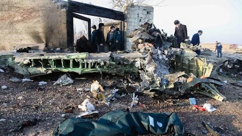 Lezuhant egy ukrán utasszállító Iránban