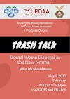 UPCD-UPDAA-ADI Seminar on Waste Disposal in the New Normal