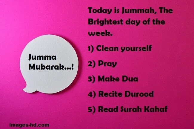 Jumma is the Brightest day of the week