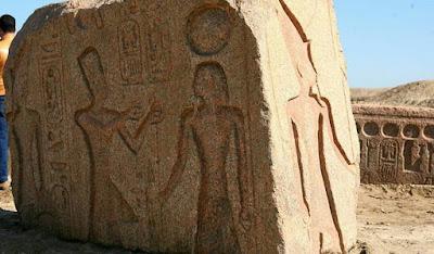 Αίγυπτος: Ανακαλύφθηκε στήλη του Ραμσή Β΄