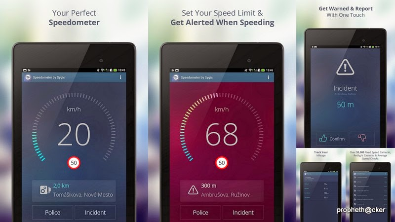 speedometer in android