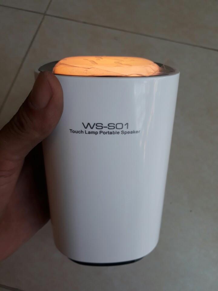 Loa bluetooth WS-S01 có đèn led đổi màu trang trí