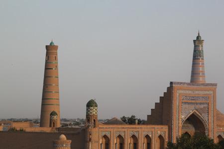 meros hotel, meros b and b khiva uzbekistan