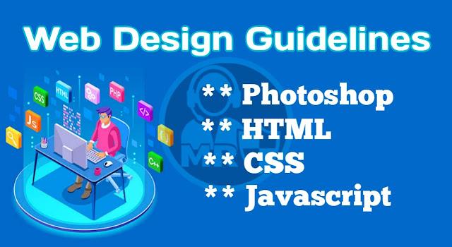 Web design guidelines 2021