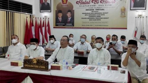 33 DPC Gerindra Sumut Solid Dukung Prabowo Kembali Maju Pada Pilpres 2024