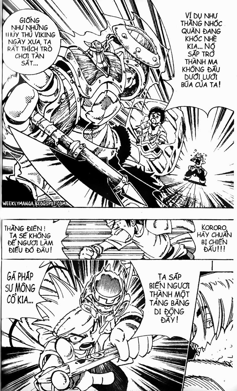 Shaman King [Vua pháp thuật] chap 127 trang 17