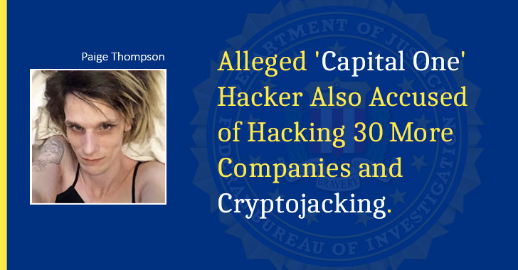 Hacker Paige Thompson Capital Data Breach