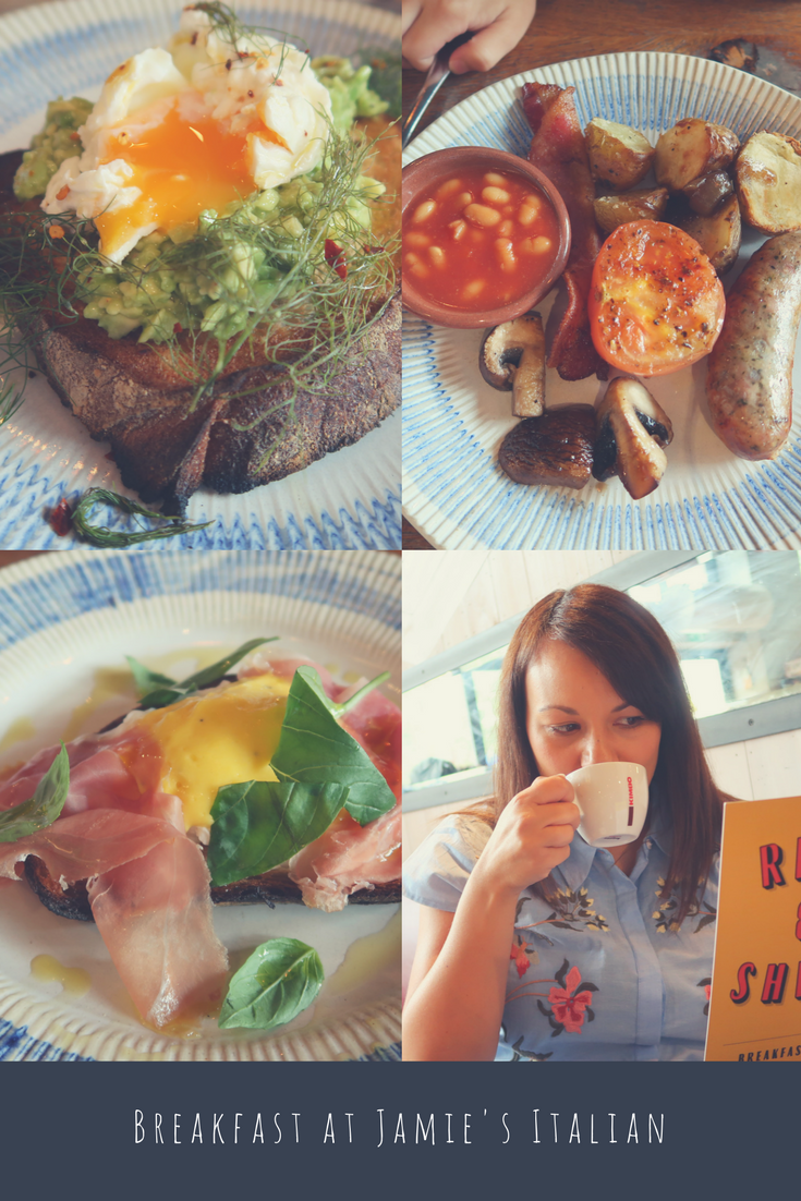 A Family Breakfast at Jamie's Italian