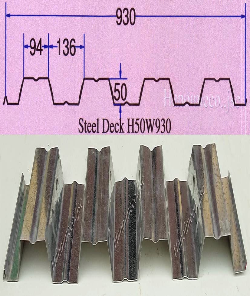 Sàn Deck H50W930