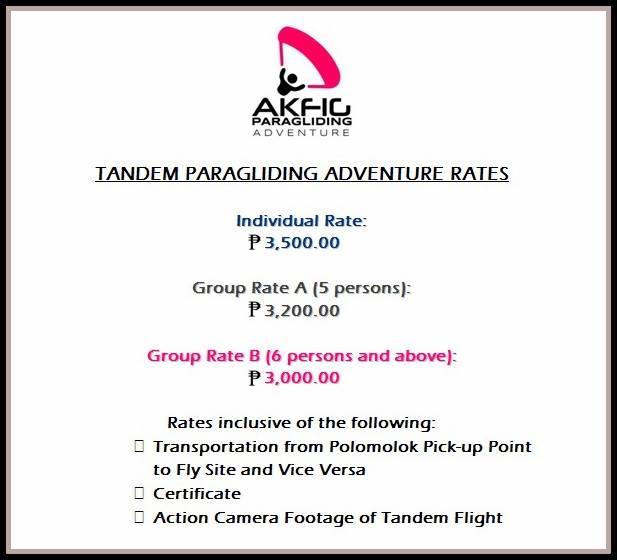 Akfig Paragliding Adventure in Polomolok