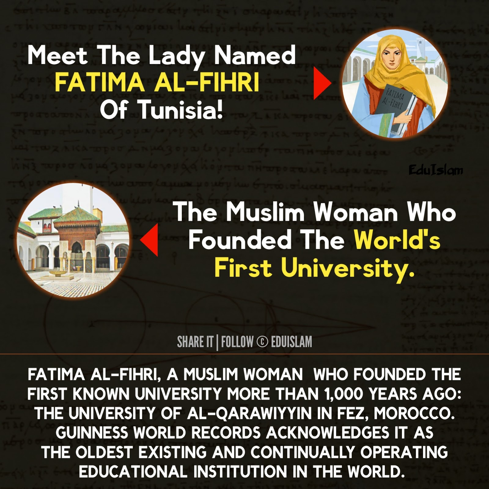 Facts About Fatima Al-Firhi and First University