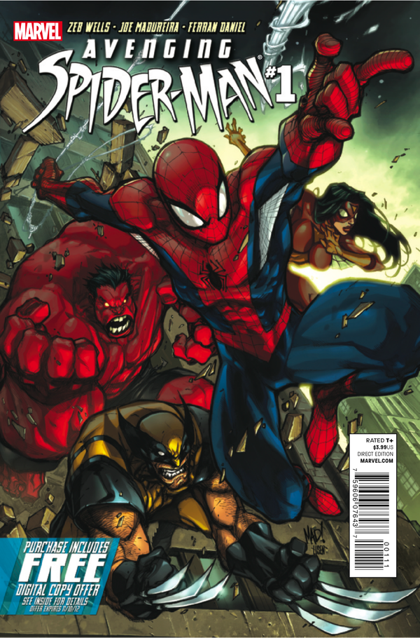 COMIC BOOK FAN AND LOVER: SPIDER-MAN: SPIDER-MAN VENGADOR