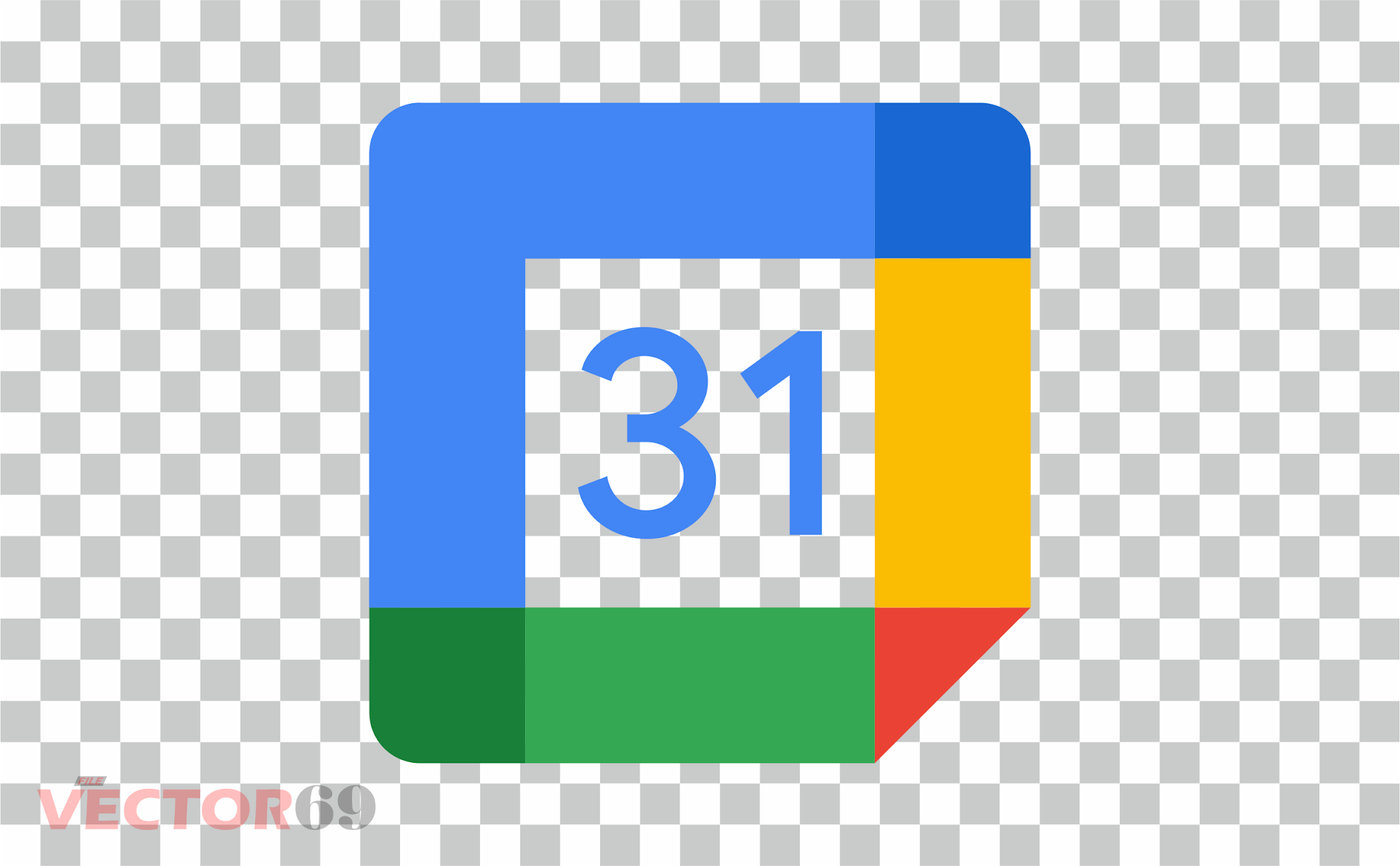 Google Calendar New 2020 Logo - Download Vector File PNG (Portable Network Graphics)