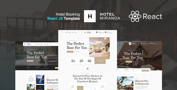 Best Hotel Booking Website Template