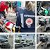 Colisão carro e moto deixa policial militar do 6º BPM de Cajazeiras ferido neste sábado