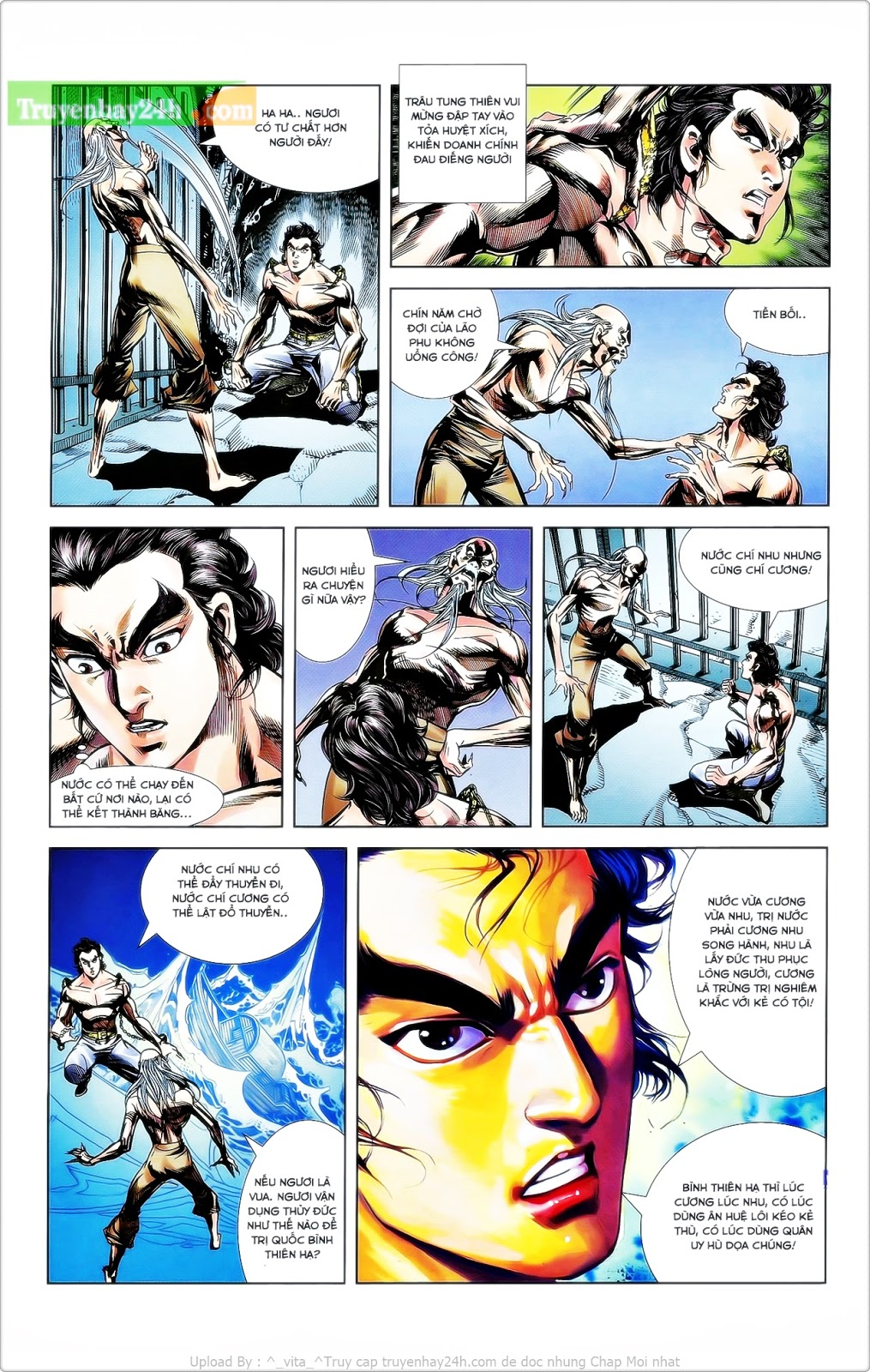 Tần Vương Doanh Chính chapter 25 trang 14