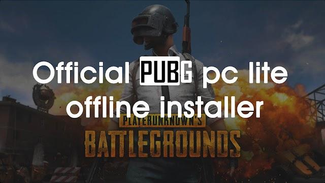 Download Pubg PC Lite Offline Installer Official (Latest Update)