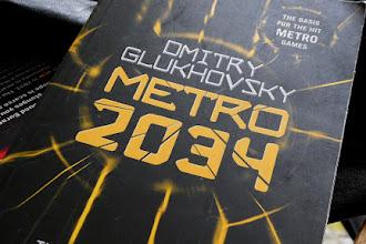 "Reviewing ""Metro 2034"" by Dmitry Glukhovsky"
