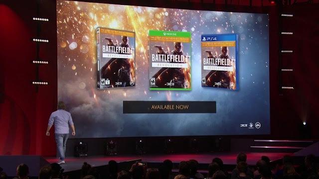 الإعلان عن نسخة Battlefield 1 Revolution و طور موجه للبطولات Incursions