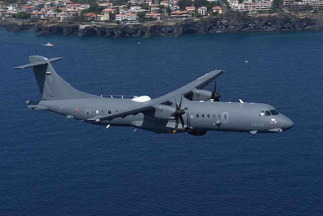 Guardia di Finanza awards Leonardo 150 million euros contract for three more ATR-72MP aircraft