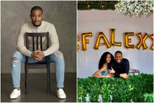 I said yes to the love of my life- Alexx Ekubo is engaged to Fancy Acholonu