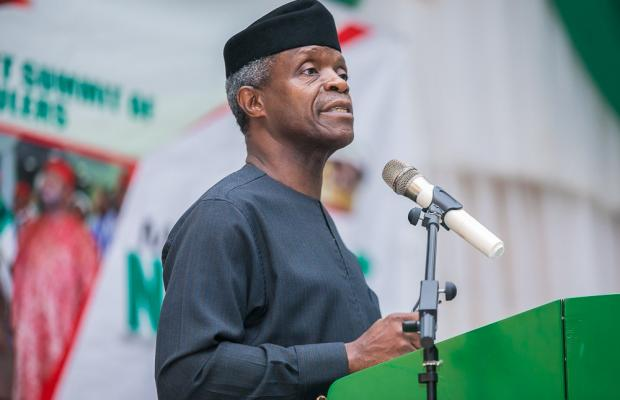 VP Osibanjo Advice Christians To Pray For Their Enemies Including Insurgents
