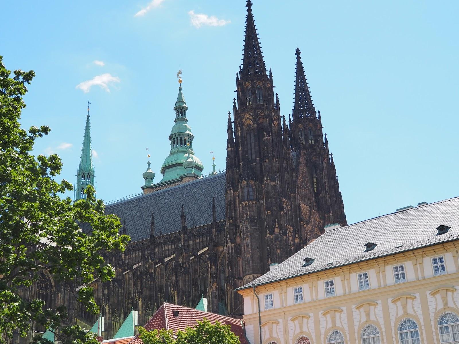 Praga z rejsem Wełtawą