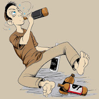 Alcohol and drugs - Depression