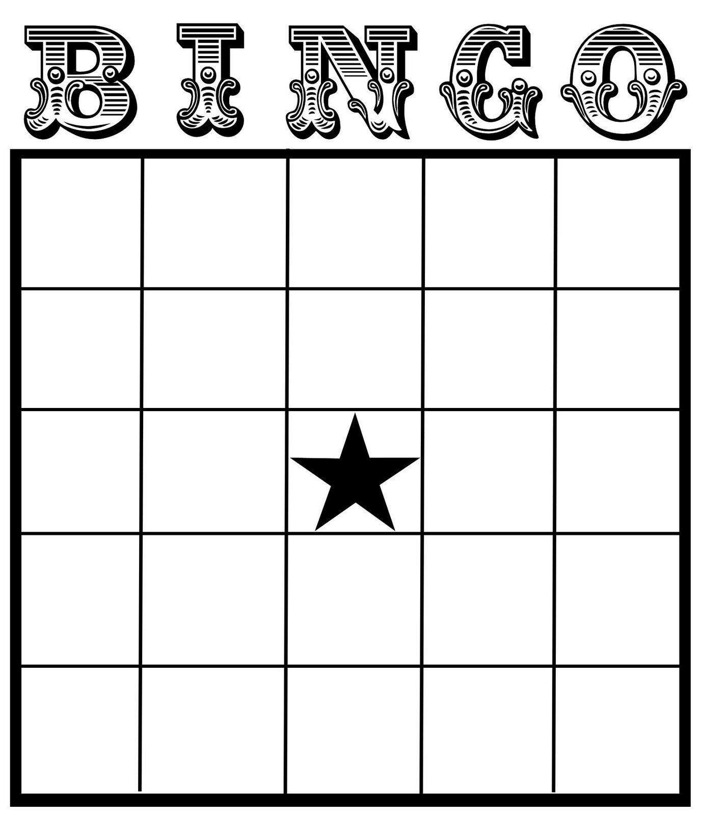 Christine zani bingo card printables to share for 4x4 bingo template