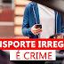 """A SMT-Cris alerta que em Cristalina ainda não existem serviços de transporte de passageiros como o """"Uber"""", fique atento"""