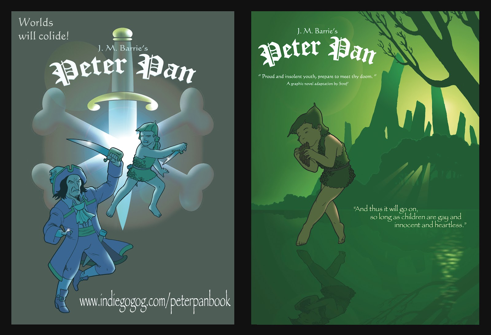 Art of Stref ': My latest project: J M Barrie's Peter Pan ...