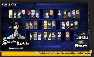 Download Naruto Senki Mod Sasuke Adventure V2