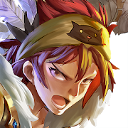 Playstore icon of Flame Dragon Knights