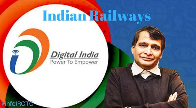 Digitisation, Digital India, Rakshak, WiFi, ecosystem, India Rail Info, indian railways, irctc availability, rly enquiry, indian railways inquiry, indian railways enquiry,