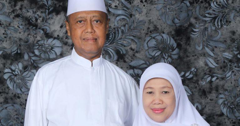 KH Noer Muhammad Iskandar SQ dan Istri
