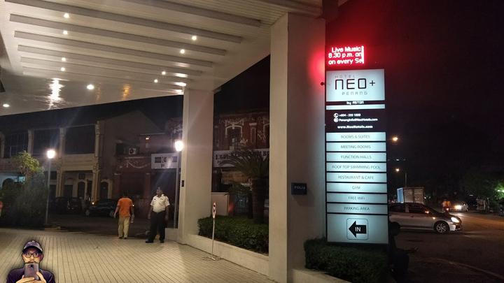 Lokasi dan Kedudukan Hotel Neo + by Aston, Penang