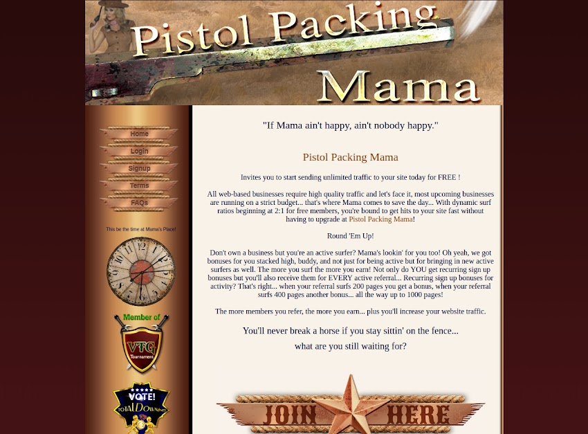 Pistol-Packing-Mama