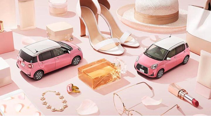 Toyota Passo Moda Charm dành riêng cho phái đẹp