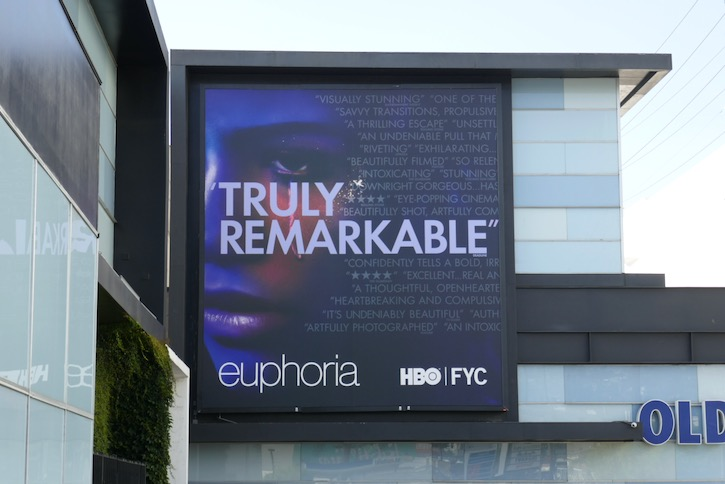 Euphoria 2020 Emmy FYC billboard