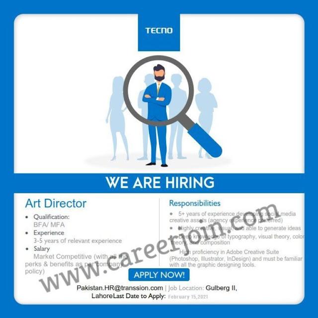 Jobs in Tecno- Vacancies in Tecno Mobile- Jobs in Tecno Mobile-Vacancies in Tecno-Vacancies in Tecno Mobile-Online Apply-pakistan.HR@transsion.com