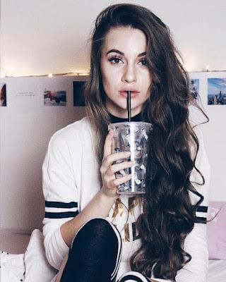 selfie tumblr con bebida