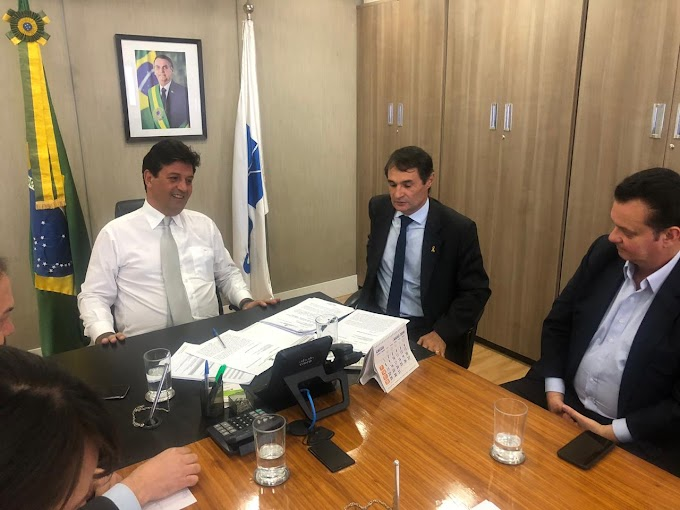 Em audiência com o ministro da Saúde, Romero recebe a garantia de liberação de recursos para custeio da saúde de Campina Grande